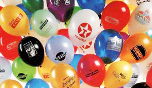How are advertising balloons produced?