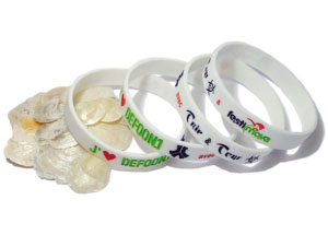 Silicone wristbands UK