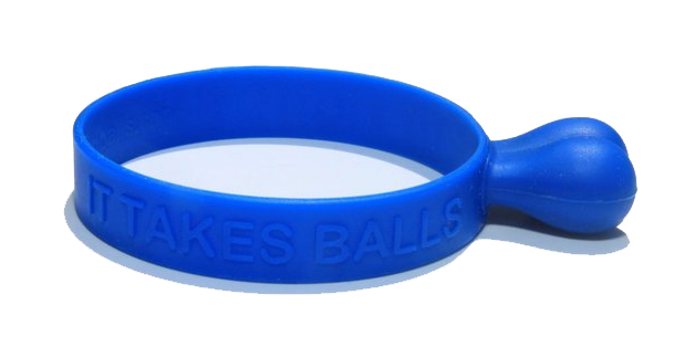 Silicone wristbands with balls !