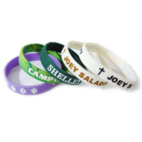 Silicone wristbands history