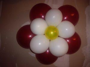 ballon fleur