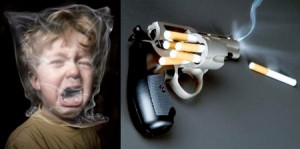 « Shocking anti-smoking campaigns »