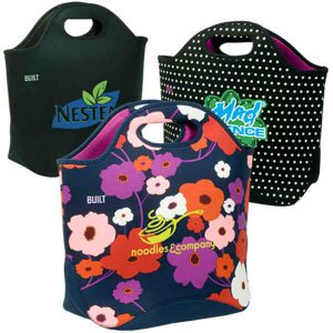 Promopeddler built (r) everyday (r) - tote made from protective neoprene material.