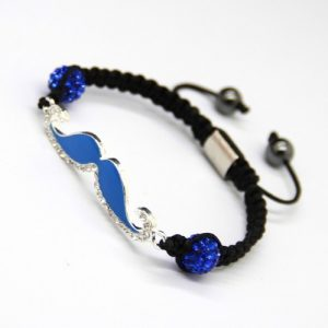 moustache-shamballa-wristbands