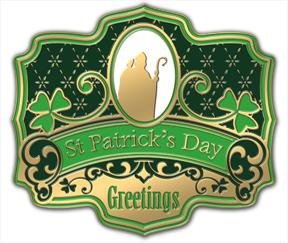 St-Patrick-coaster
