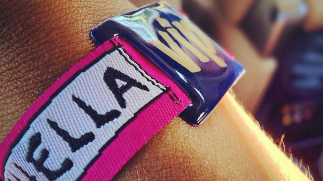 Coachella 2014 and its mythical ID wristbands