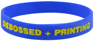 How-to-customize-your-silicone-wristbands-Filled-in-wristbands