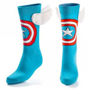 Promotional-socks-the-best-heroes-accessory-Captain-America-socks