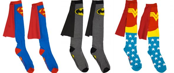 Promotional socks : the best heroes'accessory