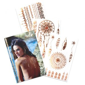 Alessandra-Ambrosio-s-golden-temporary-tattoos-3