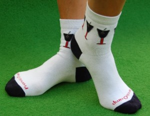 socks with custom logo