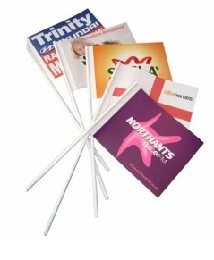 promotional paper flags
